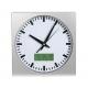 Nástěnné hodiny ručičkové s LCD
