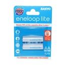 Nabíjecí baterie AAA Sanyo Eneloop Lite 600mAh Ni-Mh 2ks Blistr - 2000 nabíjecích cyklů