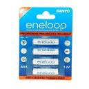Nabíjecí baterie AAA Sanyo Eneloop 800mAh Ni-Mh 4ks Blistr
