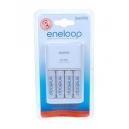 Nabíječka baterií (AA, AAA) Sanyo MQR06 + 4x AA Sanyo Eneloop 2000mAh