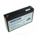 Náhradní baterie (olověný akumulátor) 6V 7,7Ah do vozítka Peg Pérego F1