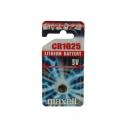 Nenabíjecí knoflíková baterie CR1025 Maxell Lithium 1ks Blistr