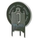 Knoflíková baterie CR2032 Panasonic Lithium 1ks s vývody do PCB