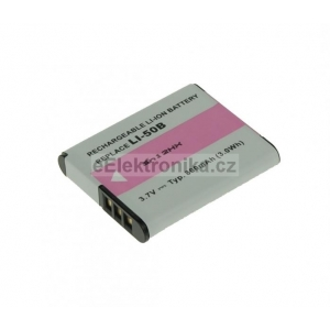 Baterie - Olympus Li-50B, Pentax D-LI92 Li-ion 3.7V 800mAh 3Wh