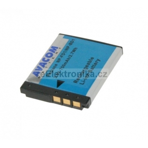 Sony NP-BD1/NP-FD1 Li-ion 3.6V 750mAh 2.7Wh (tm. modrý index)