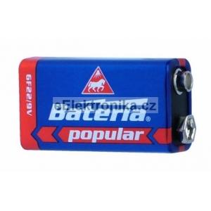 Baterie popular 6F22 - 9V Bateria