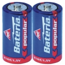 Baterie popular Bateria R14 C - 2ks