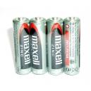 Tužkové baterie AA Maxell 4ks