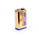 Alkalické baterie 9V Bateria