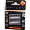 Nabíjecí baterie AAA Eneloop pro 1000mAh Ni-Mh 4ks Blistr