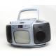 Rádio s CD a BW TV monitorem 3v1