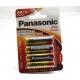 Alkalické baterie AA Panasonic Pro Power 4ks