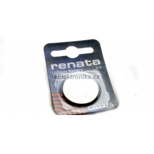 Lithiová baterie CR2325 renata