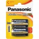 Baterie C Panasonic Alkaline- 2ks Blistr