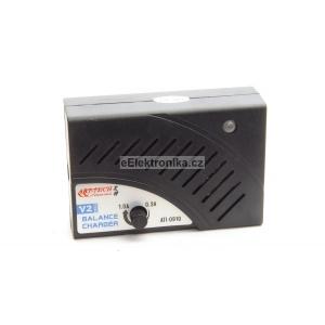 Nabíječka s regulací proudu pro baterie Li-po 2-3čl.