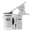 Kapesní mikroskop s LED světlem a UV LED