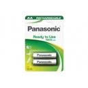 Nabíjecí baterie Panasonic - tužkové AA 2ks
