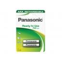 Nabíjecí baterie Panasonic ReadToUse - mikrotužkové AAA 2ks