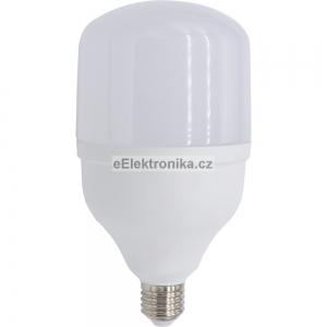 LED velká žárovka E27 30W teplá bílá
