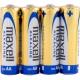 Baterie alkalické AA maxell 4ks ve fólii