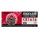 Knoflíková baterie CR1616 Maxell Lithium - 1ks Blistr