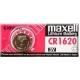 Knoflíková baterie CR1620 Maxell Lithium 1ks Blistr