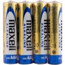 Baterie AAA Alkalické Maxell 4ks fólie