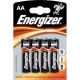 Baterie Energizer alkaline AA 4ks