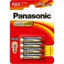 Baterie alkalické Panasonic Pro Power AAA 4ks