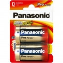 Baterie PANASONIC ProPower  D - 2ks