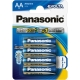 Baterie alkalická Panasonic Evolta AA 4ks