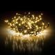 Světelný řetěz ježek bílá 16m 600LED