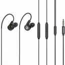 Sportovní Hi-Fi sluchátka s 3 páry měničů s mikrofonem