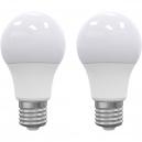 LED žárovka E27 9W teplá bílá 2ks