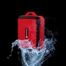 Voděodolný přenosný reproduktor Buxton Červený