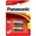 Baterie CR123A Lithium Panasonic 2ks