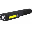 Kompaktní svítilna do ruky 3W COB a 1W LED